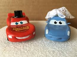 cars cake toppers lightning mcqueen and sally mater wedding cake topper cars cake
