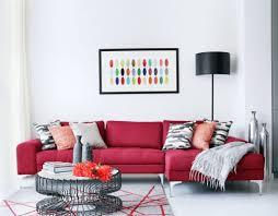 Red Home Decor Ideas Home Design 87 Inspiring Red Sofa Living Rooms