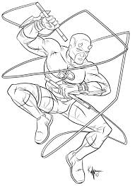 chibi daredevil coloring pages pictures to pin on pinterest within