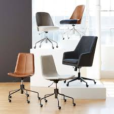 Office Chairs And Desks Slope Upholstered Office Chair West Elm