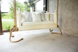 Swinging Bed Frame Porch Bed Swing Buildsomething
