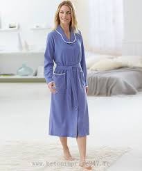 robe de chambre damart classique damart robe de chambre maille nid d abeille lavande robe