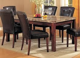 black granite top dining table set black granite dining table set lofty design granite top dining table