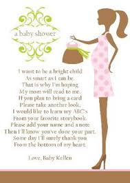 Books Instead Of Cards For Baby Shower Poem Onesie Shaped Invite To An Online Skype Baby Shower For Family