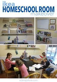 homeschool room makeover