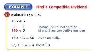 4 5 estimating quotients using compatible numbers lessons tes