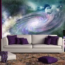 galaxy wall mural purple galaxy spiral wall mural space nebula photo wallpaper
