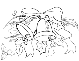 christmas color pages bellfree coloring pages kids free