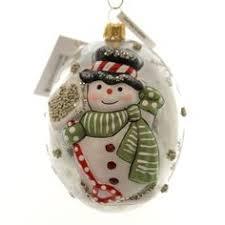 vaillancourt folk shiny ornament santa on rocking