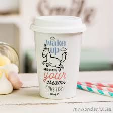 Come In And Go Away Doormat Take Away Cup Wake Up And Make Your Dreams Come True Mr Wonderful