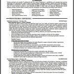 It Manager Resume Template F Resume Page 3 Of 100 Resume Templates And Letter Sample