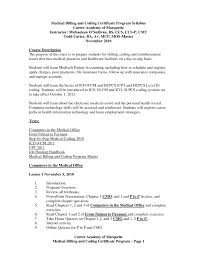 Billing Specialist Resume Sample by Medical Billing Objective For Resume Free Resume Example And