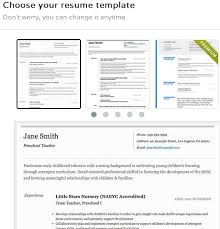 Resume Template Creator by 5 Resume Creator Extensions For Google Chrome