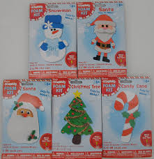 amazon com 5 christmas holiday foam craft kits 2 santa claus 1