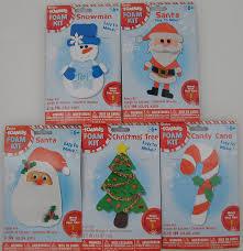 amazon com 5 christmas holiday foam craft kits 2 santa claus 1