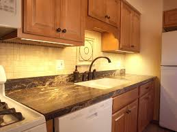 Led Lights In The Kitchen by Battery Powered Under Cabinet Lighting With Switch Best Home