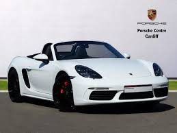 porsche boxster 2 5 engine used 2017 porsche boxster 2 5 s 2dr pdk for sale in south wales
