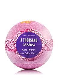 a thousand wishes bath and works bath bomb sweet pea vanilla sugar