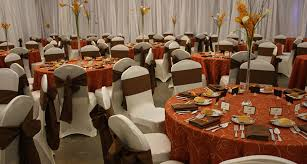 cheap table linen rentals beautiful orange and brown wedding ideas styles ideas 2018