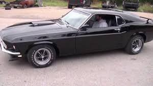Classic Black Mustang 1969 Mustang Mach 1 351 Auto 1579 Youtube