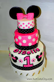Red Minnie Mouse Cake Decorations Babies First Birthday Minnie Google Search Parties Pinterest