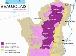 Map Of Burgundy France by The Secret To Finding Good Beaujolais Wine Wine Folly