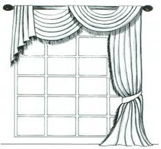 Curtain Draping Ideas For Beautiful Custom Curtain Swags In Herndon Va Visit