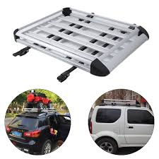 Car Roof Box Ebay by 1 3m Car 4wd Roof Rack Luggage Cage Basket Cargo Carrier Box