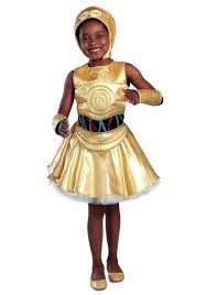girls star wars c 3po dress