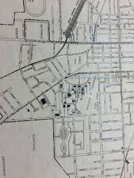 Lexington Ky Map University Of Kentucky Campus Ann Rice O U0027hanlon U0026 The Memorial