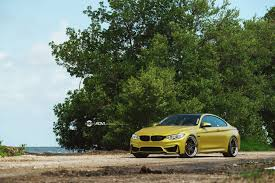 Bmw M3 Yellow Green - austin yellow bmw f82 m3 adv06 track function cs series wheels