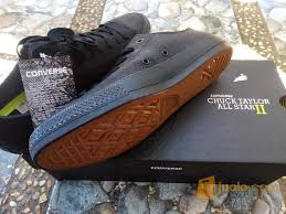 Sepatu Converse Black sepatu converse ct ii low leather black kab sukoharjo jualo