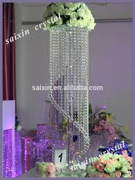 gorgeous hanging crystal wedding decoration centerpieces buy