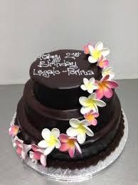 orchid cascade the chocolate cake company mum u0027s 80th birthday