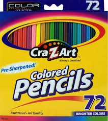 Amazon Com Unique 72 by Amazon Com Cra Z Art Colored Pencils 72 Count 10402 Wood