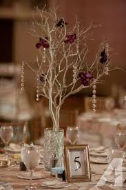 manzanita centerpieces wedding centerpieces 20 manzanita branches with filled