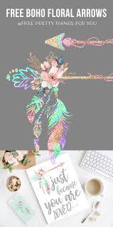 boho addict fb boho addict free boho floral arrow clipart free pretty things for you