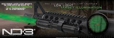 night hunting lights for scopes nd3 green laser designator for military law enforcement and emt