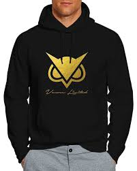 amazon com vanoss limited edition gold owl ash unisex hoodie books