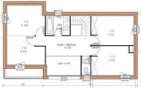 plan maison simple 3 chambres plan maison plain pied 3 chambres 1 bureau fabulous plan maison