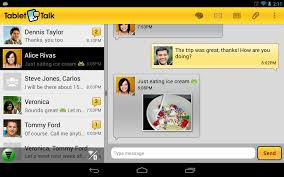 tablet talk sms u0026 texting app android apps on google play
