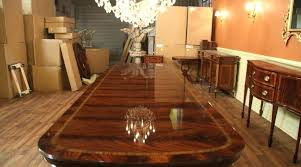 large round wood dining room table huge dining table mailgapp me