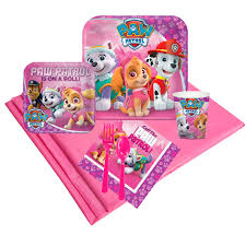 pink paw patrol party pack 8 birthdayexpress