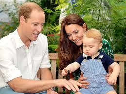 kate middleton prince william and prince george enjoy mustique