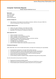 Systems Administrator Sample Resume by Sample Tech Resume Resume For Your Job Application