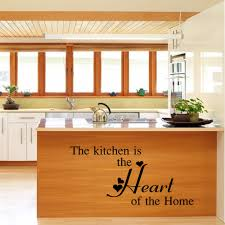 online get cheap kitchen murals aliexpress com alibaba group kitchen is the heart quotes wall stickers living room waterproof dinning kitchen mural vinyl decoration decal