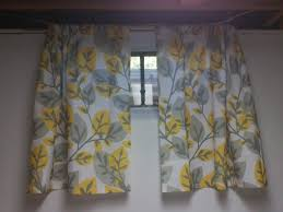 Window Treatments For Small Windows by Sewing Little Basement Curtains Youtube