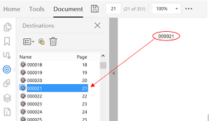 Count Number Of Pages In Pdf Autobookmark In For Adobe Acrobat Named Destinations