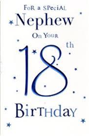 nephew 18th birthday card amazon co uk kitchen u0026 home