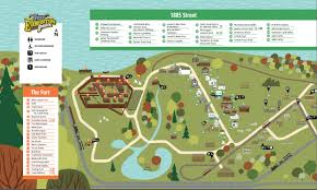 Edmonton Canada Map Maps Fort Edmonton Park